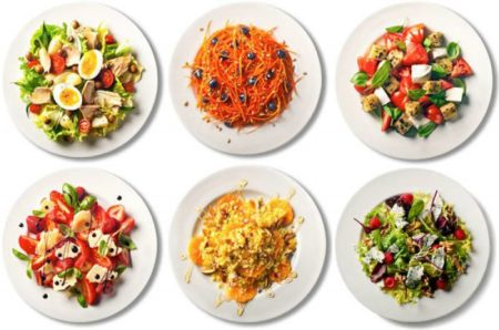 Разрешенные салаты