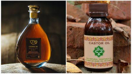 Коньяк и касторовое масло